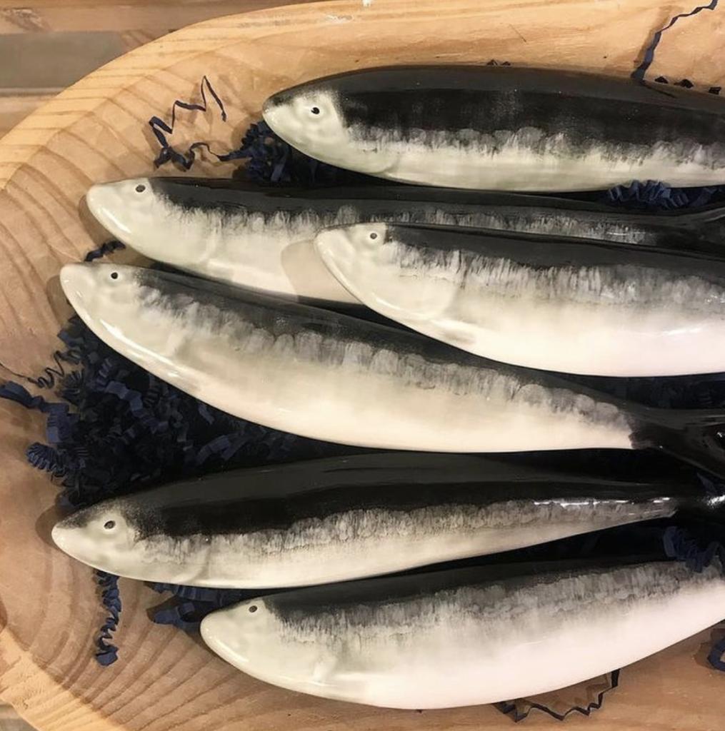sardine en céramique Bordallo Pinheiro en vente chez ALMA Bordeaux