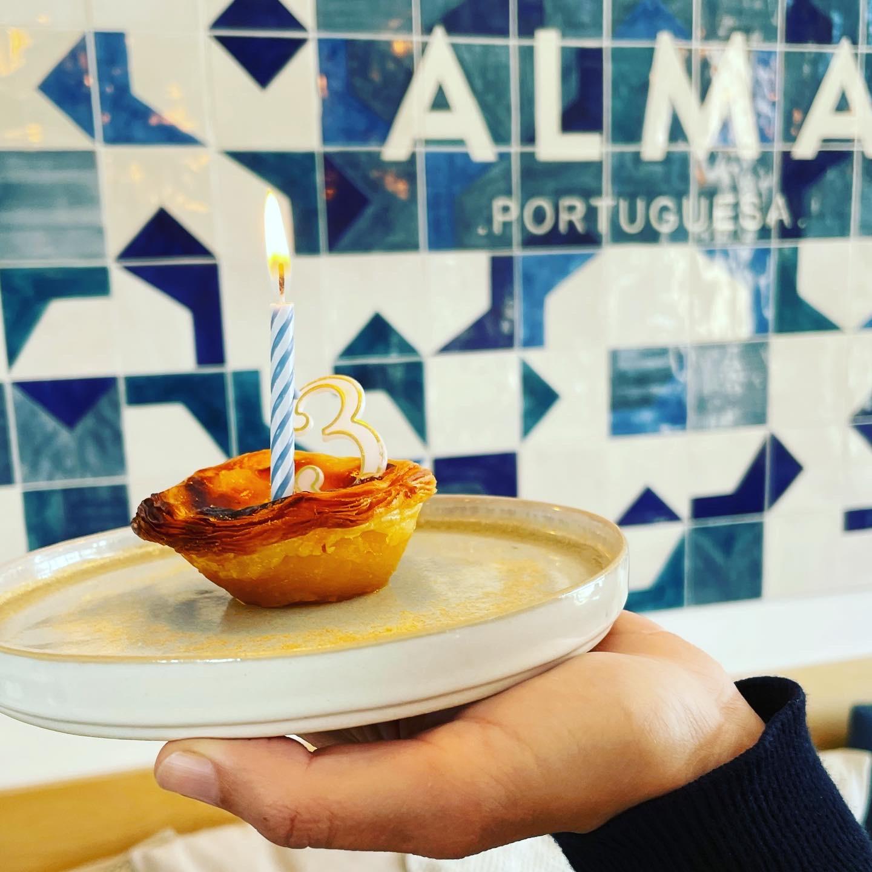 pastel de nata ALMA PORTUGUESA